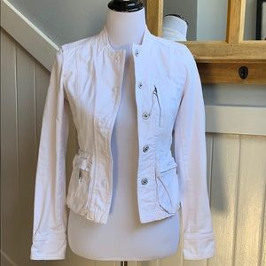 Vince Structured White Jacket